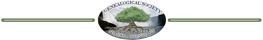 Niagara County Genealogy Blog